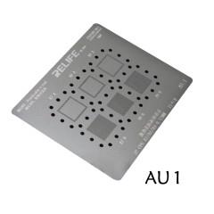RL-044 AU1 AU2 Steel net 0.12MM for iPhone CPU stencil IP CPU A7/A8/A9 IP CPU A10/A11/A12