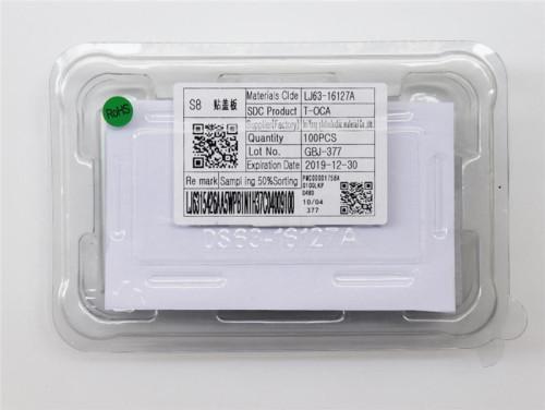 3M T-OCA glue 125um for Samsung egde TOCA adhesive OCA curved screen laminate film 100pcs/box