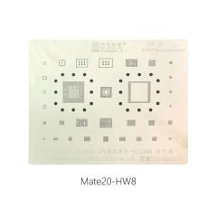 AMAOE HW8 universal CPU stencil Kirin980 Hi3680 0.12MM for Huawei Mate20/20pro/20X/20RS MateX Honor V20 Magic2 HW:8 reballing stencil