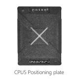 AMAOE CPU5 LCD TV reballing kit 0.20MM steel mesh for TU21 TU22 TU23 TU24 TU25 TU26 TU27 CPU5 position plate