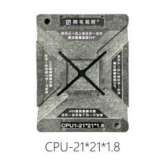 AMAOE LCD TV CPU reballing kit 0.20MM universal stencil CPU reballing plate