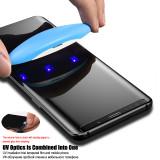UV glue tempered glass for Samsung Galaxy edge models UV Nano liquid protective film S6 edge - S20 ultra note8-note10+ screen protector