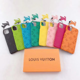 Luxury LV full cover Case for IPhone 11 Pro Xr Xs Max X 8 7 Plus