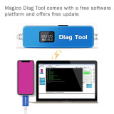 MAGICO 8P X XS 11 DFU Recovery mode data engineering flashing line automatically enters without a button