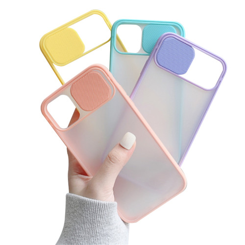 Lovebay Camera Lens Protection Case For iPhone 11 Pro Xs Max 8 7 6 6s Plus XR X SE 2020 Case Phone Candy Color Translucent Cover