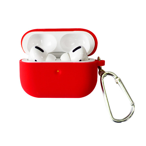 airpods pro protective cover airpods protective shell silicone box cover round bottom suitable for Apple Bluetooth headset cover