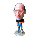 technology Star Steve Classic Jobs Apple CEO Resin Doll Set Action Figure 6.5 cm Mini Toy Collectible Gift