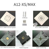AMAOE A12 tin plant positioning plate magnetic tin planting platform A12 CPU stencil half engraved steel mesh