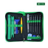 BST-112 Precision screwdriver set 23 in 1 magnetic screwdriver pack,Mobile phone iPad camera Iphone Samsung Repair kit