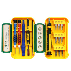 24 In 1 High Quality BST-8925 Precision Magnetic Screwdriver Set For Phone Opening Repair Tools Kit Screwdriver Tweezers Crowbar