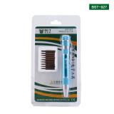BST-927 9 in 1 Mini Screwdriver Pen Set Aluminum Alloy Handle S2
