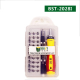 Multi-purpose Torx Screwdriver Set Magnetic Screwdriver Set for with Trox Hex Cross Flat Star Screwdriver for cellPhone PC BST-2028I