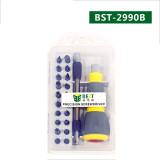 BST-2990B 32 in1 Multifunctional Precision Screwdriver Set For iPhone Laptop Mini Electronic Screwdriver Bits Repair Tools