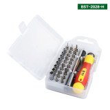 Professional Precision 33 Pcs in One Screwdirver Set Repairing Tool for Mobile Phone BST 2028H