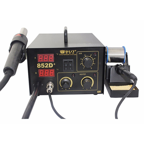 BEST-852D+ Factory Direct High Quality SMD Phone/Mobile/Cell Phone Repair Soldering Station Automatic Rework Station