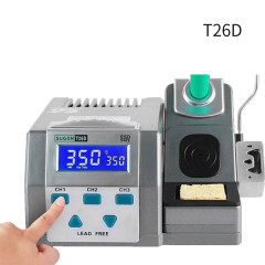 SUGON T26D Soldering Station Electric Soldering Iron 2S Rapid Heating Up 80W Power Heating System Support JBC Soldering Iron Tips