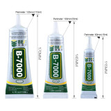 15ml/50ml/110ml Best B-7000 Glues Multi Purpose Glue Adhesive Epoxy Resin Diy Crafts Glass Touch Screen Cell Phone Super Glue
