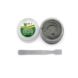 BEST-705 50g Lead-Free Solder Paste Strong Adhesive Tin Soldering Flux with Scraper Welding Flux for BGA SMD PGA Rework Reballing Station