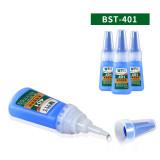 BEST-401 universal all-purpose glue instant glue 20g bonding ceramic rubber electronic leather goods glue