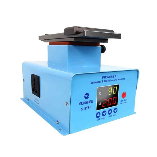 SUNSHINE S-918F Edge Screen Separate Glue Remover Machine In Frame Universal Separator With Middle Frame Operation