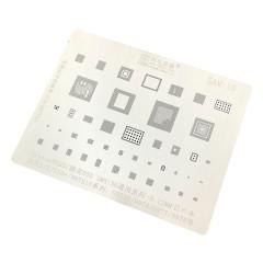 AMAOE SAM10 tin mesh/S10/S10+/NOTE10 series/G975/977/N975 steel net stencil 0.12mm