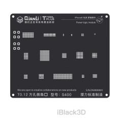 Potential innovation iBlack3D positioning tin planting black net Apple i5-i8 power logic module square hole high temperature resistance