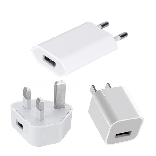 5V 1A Apple  iPhone usb charger fast charging head 5W Apple charger adaptor