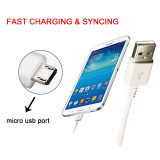 Samsung Fast Charger micro usb charging Cable 1/1.2/1.5M 2A Data Line For SAMSUNG Galaxy S6 S7 Edge