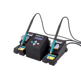 Lead Free Solder Station 75W Constant Dual Solder Iron Rework Station for Phone Repair Welding Station With Sleep Mode UYUE3600