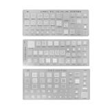 Universal BGA Reballing Stencils Kit For MTK Samsung HTC Huawei Android