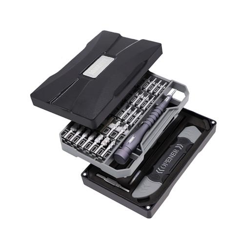 JM-8173 69 In 1 Classic Black Precision Screwdriver Set Mobile Phone Repair Tools Kit Magnetic Screwdriver Kit For iPhone Repair