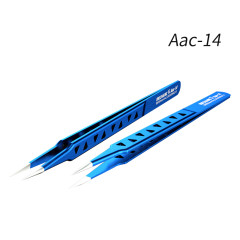 MECHANIC AAC-14 hollow heat-dissipating tweezers,  high hardness tweezers for mobile phone repair