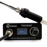 QUICKO T12-952 Electronic Soldering Station iron LCD Digital Display Welding iron Quick Heating BGA Rework Station