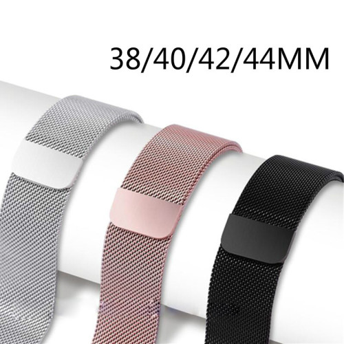Milanese Loop Metal  Magnetic belt Stainless steel bracelet For Apple iWatch series 5 4 3 6 40mm 44mm 38mm 42mm
