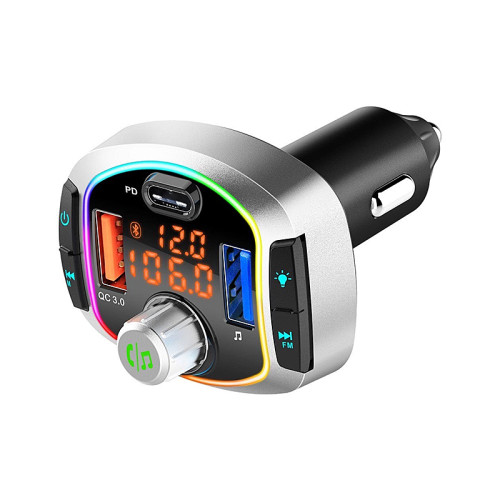 New style 18w car Bluetooth handsfree fast charger