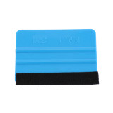 Blue Plastic Soft Felt Glass Windows Car Styling Accessories Car Foil Tool Squeegee Sticker Tool Scraper Sealant Tools