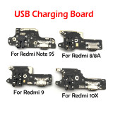 USB Power Charging Port Board Flex Cable Connector Parts For Xiaomi Redmi 8 8A 9A 10X Note 9S Note9 Pro Note9S Microphone Module