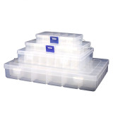 Motherboard Chip Screw Electronic Parts Storage Box Can Be Split Transparent Tool Boxs