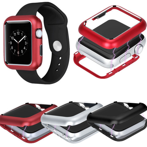 Magnetic Shell Watch Cover Protector Case For Apple Watch Series 4 3 2 1