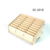 SUNSHINE SS-001B/SS-001C 24 grid cell phone management box storage bins storage box for repair Working table storage