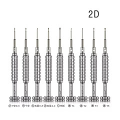 AMAOE alloy bit 2D 3D S2 screwdriver set for Android iPhone mobile phone repair disassembly screwdriver S2 alluminum drill