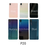 Battery cover door rear glass with camera lens For Huawei P20 / P20 pro / P20 lite