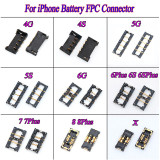 Battery FPC Connector Clip Plug Holder Terminal Logic Board Motherboard FPC Parts For iPhone 5g 5c 5s 6g 6 6s 7 8 plus 6sp x
