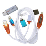 2019 Newest HCU Dongle + DC Phoenix Phone converter for Huawei with Micro USB RJ45 Multifunction boot all in one cable
