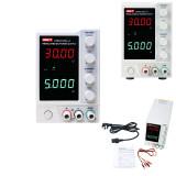 UTP3315TFL-II (30V/5A), UTP3313TFL-II (30V/3A) single-channel adjustable DC regulated power supply benchtop tools