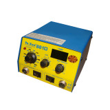 YAXUN 881D 2 in 1 SMD hot air and soldering station,220v /110v digital BGA rework station Automatic rework station