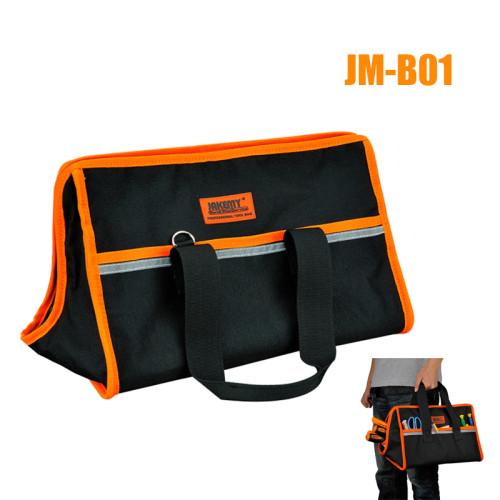 JAKEMY JM-B01 / B02 / B03 / B04 Durable Hardware Tool Storage Oxford Cloth Sturdy Zipper Tool Bag