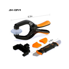 JM-OP14 2 IN 1 Professional Handy LCD Screen Opening Pliers for Cell Phone Pad Home Electronics DIY Repair Disassemble