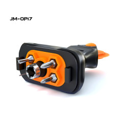 JAKEMY JM-OP17 9 IN 1Multi-functional Portable Mini Screwdriver with Replaceable Roller DIY Tool for phone Tablet Disassemble