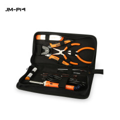 JM-P09 14 In 1  Multifunction Screwdriver Hand Tool Kit with Solder handle and All Types of Pliers